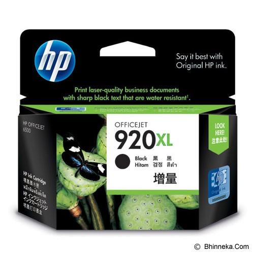 HP Black Ink Cartridge 920XL [CD975AA] - Tinta Printer Hp